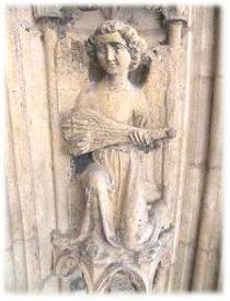 Ange sur la cathédrale Saint Jean - Lyon