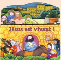 Livre cartonné Jésus est vivant