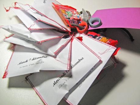Enveloppes de l'Avent